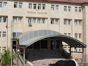 ŞIRNAK GOVERNORSHIP